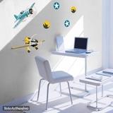Kinderzimmer Wandtattoo: Race planes 01 3