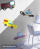 Kinderzimmer Wandtattoo: Little cars 01 3