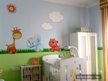 Kinderzimmer Wandtattoo: Zoo 1 3
