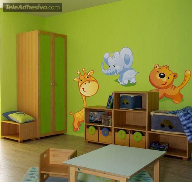 Kinderzimmer Wandtattoo: Zoo 1
