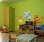 Kinderzimmer Wandtattoo: Zoo 1 6