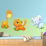 Kinderzimmer Wandtattoo: Zoo 1 8