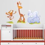 Kinderzimmer Wandtattoo: Zoo 2 0