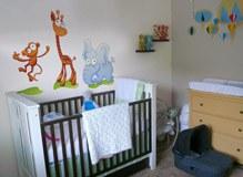 Kinderzimmer Wandtattoo: Zoo 2 3