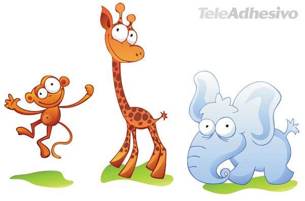 Kinderzimmer Wandtattoo: Zoo 2