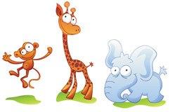 Kinderzimmer Wandtattoo: Zoo 2 4