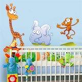 Kinderzimmer Wandtattoo: Zoo 2 5
