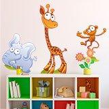 Kinderzimmer Wandtattoo: Zoo 2 7