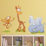 Kinderzimmer Wandtattoo: Zoo 2 9