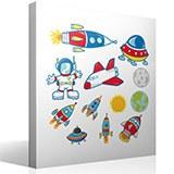 Kinderzimmer Wandtattoo: Space 4
