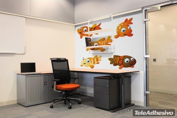 Kinderzimmer Wandtattoo: Aquarium 1