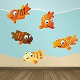 Kinderzimmer Wandtattoo: Aquarium 1 4