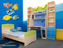 Kinderzimmer Wandtattoo: Aquarium 2 3