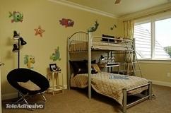 Kinderzimmer Wandtattoo: Aquarium 3 3