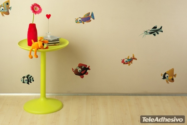 Kinderzimmer Wandtattoo: Aquarium 7