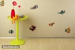 Kinderzimmer Wandtattoo: Aquarium 7 3