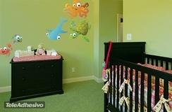 Kinderzimmer Wandtattoo: Aquarium 8 3