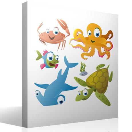 Kinderzimmer Wandtattoo: Aquarium 8