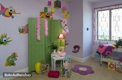 Kinderzimmer Wandtattoo: Aquarium 11 3