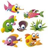 Kinderzimmer Wandtattoo: Aquarium 11 4