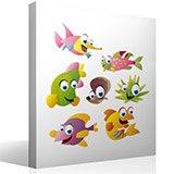 Kinderzimmer Wandtattoo: Aquarium 11 5