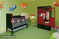 Kinderzimmer Wandtattoo: Birds 2 1