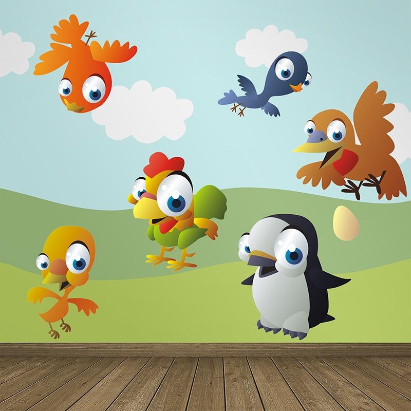 Kinderzimmer Wandtattoo: Birds 2