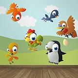 Kinderzimmer Wandtattoo: Birds 2 4