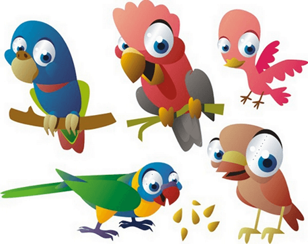 Kinderzimmer Wandtattoo: Birds 5