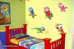 Kinderzimmer Wandtattoo: Birds 5 3
