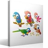 Kinderzimmer Wandtattoo: Birds 5 4