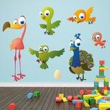 Kinderzimmer Wandtattoo: Birds 7 0
