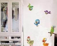 Kinderzimmer Wandtattoo: Birds 9 3