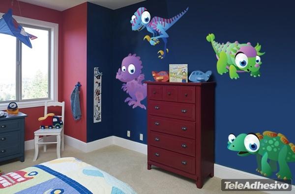 Kinderzimmer Wandtattoo: Dinosaurs 1