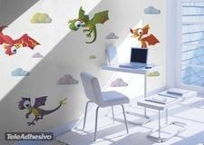 Kinderzimmer Wandtattoo: Dinosaurs 2 3