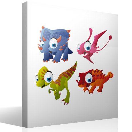 Kinderzimmer Wandtattoo: Dinosaurs 3