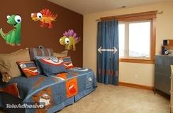 Kinderzimmer Wandtattoo: Dinosaurs 4 3