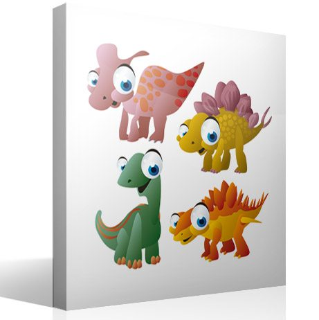 Kinderzimmer Wandtattoo: Dinosaurs 4