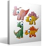 Kinderzimmer Wandtattoo: Dinosaurs 4 4