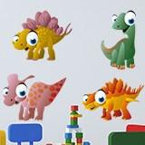 Kinderzimmer Wandtattoo: Dinosaurs 4 5