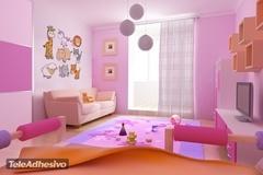 Kinderzimmer Wandtattoo: Zoo 3