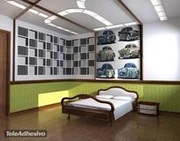 Kinderzimmer Wandtattoo: Cars 2 1