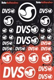 Aufkleber: DVS kit color 3