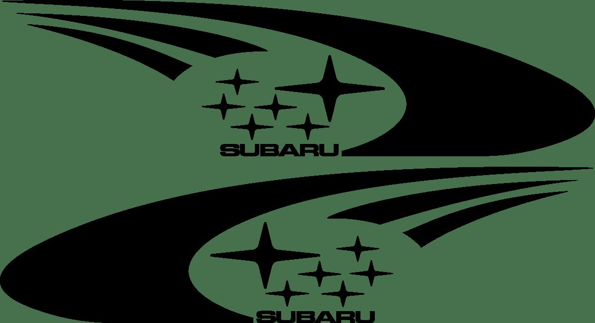 Aufkleber: Subaru Impreza WRC 2003