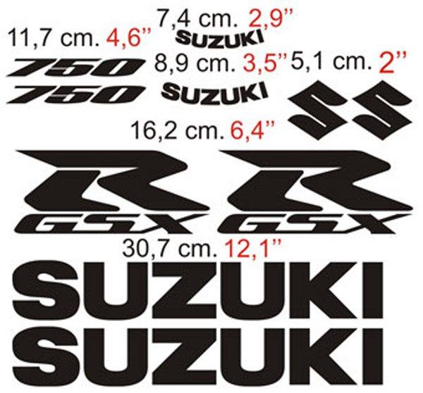 Aufkleber: GSXR 750 2006-1