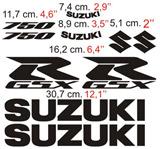 Aufkleber: GSXR 750 2006-1 2