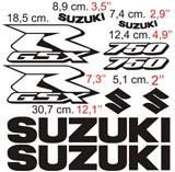Aufkleber: GSXR 750 2006 2