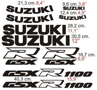 Aufkleber: GSXR 1100 1991