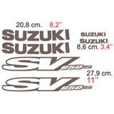 Aufkleber: SV 650 2001 2