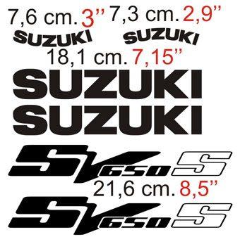 Aufkleber: SV 650 2003